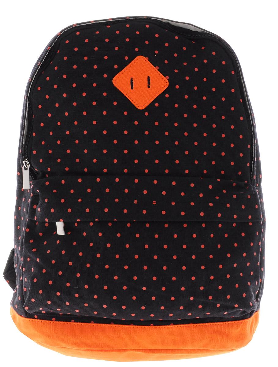 Centrum Рюкзак детский цвет черный оранжевый