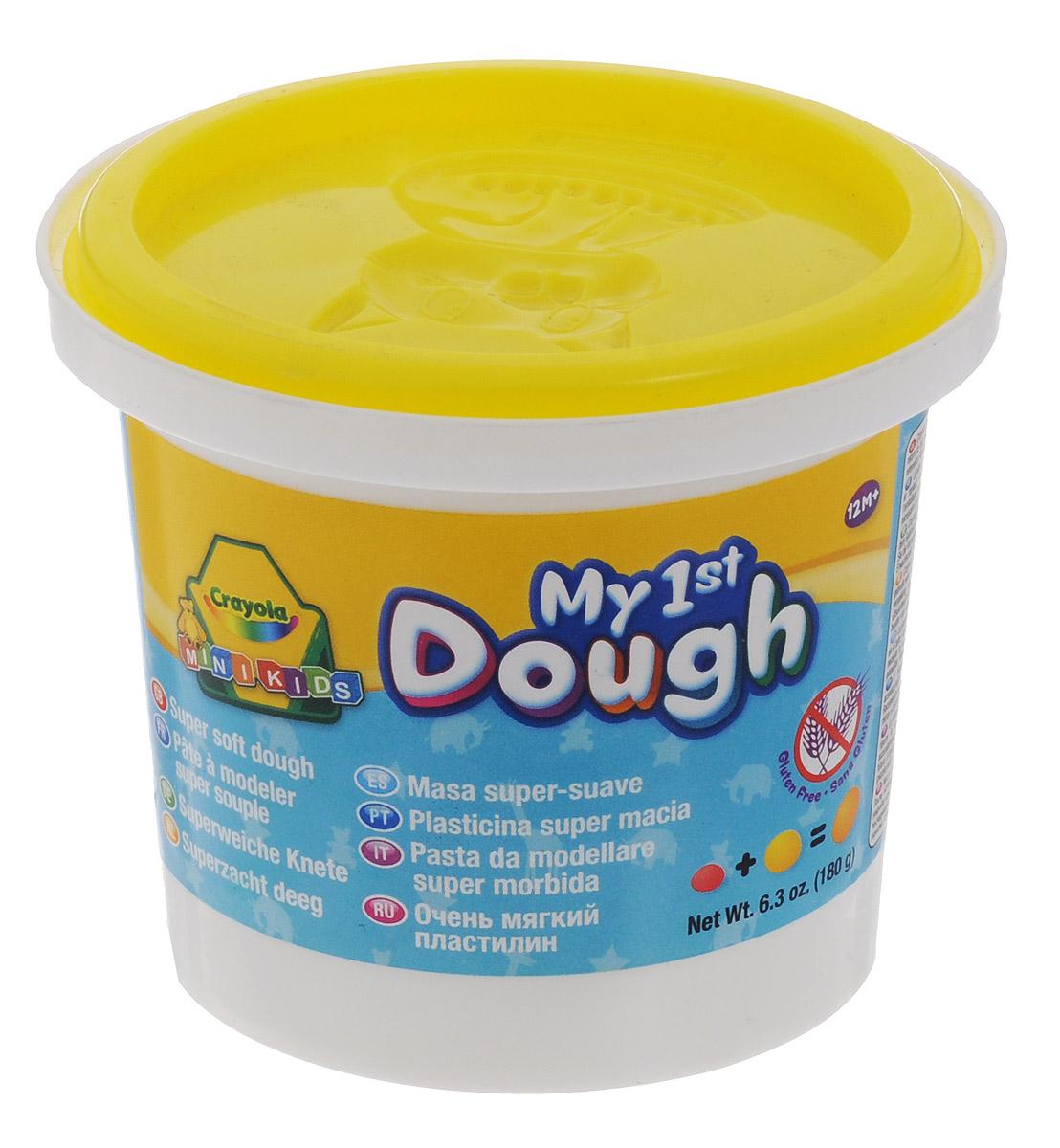 Crayola Масса для лепки My 1st Dough Котенок цвет желтый7945_котенок, желтыйМасса для лепки Crayola My 1st Dough. Котенок предназначенная для лепки и моделирования. Масса поможет малышу развить творческие способности, воображение и мелкую моторику рук. Пластилин очень мягкий, хорошо мнется и быстро высыхает. Окрашен безопасным красителем. В крышке имеется формочка с изображением котенка. Лепка из пластилина - необычайно занимательный процесс не только для детей, но и для взрослых.