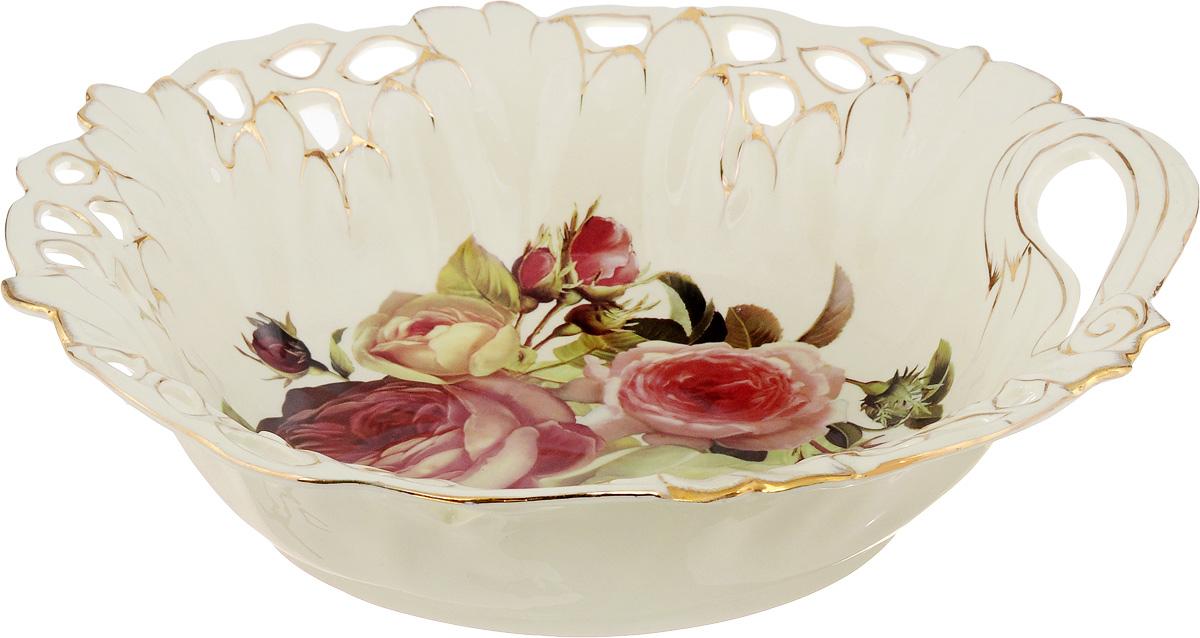 Салатник Patricia Яркая роза, диаметр 35 смIM4641LВеликолепный круглый салатник Patricia Яркая роза, изготовленный из керамики, прекрасно подойдет для подачи различных блюд, закусок, салатов или фруктов. Такой салатник украсит ваш праздничный или обеденный стол, а оригинальное исполнение понравится любой хозяйке. Не рекомендуется мыть в посудомоечной машине и использовать в микроволновой печи.