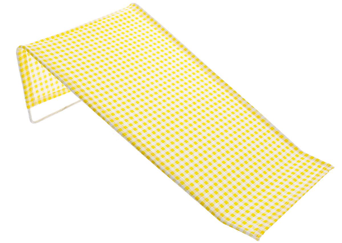 Фея Подставка для купания Бязь цвет желтый 1332-01_желтый клетка