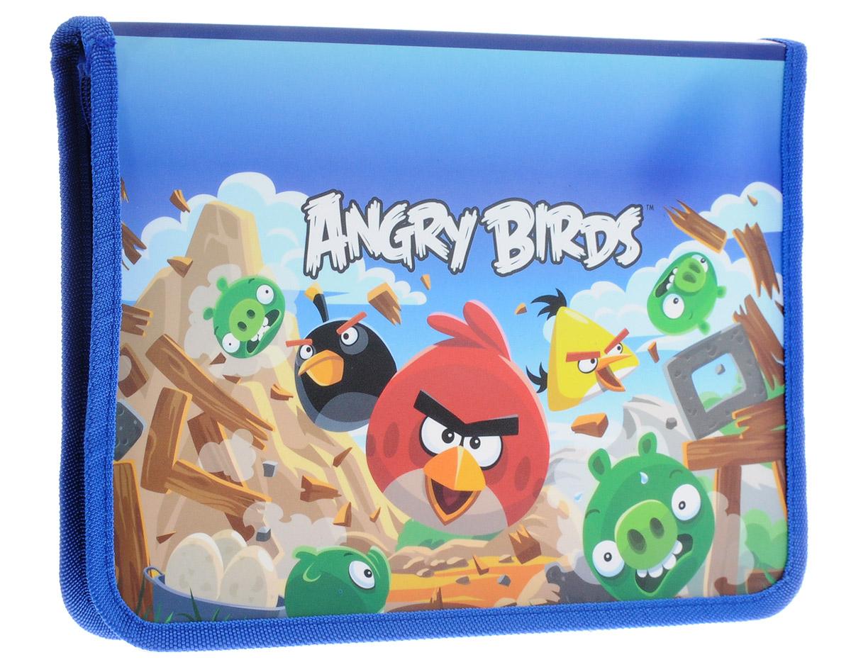 Centrum Папка для тетрадей Angry Birds Формат А5+84408Папка Centrum Аngry Birds - это удобный и функциональный инструмент, который идеально подойдет для хранения различных бумаг формата А5+, а также школьных тетрадей и письменных принадлежностей. Папка оформлена красочными изображениями героев мультфильма Аngry Birds. Папка изготовлена из прочного пластика и надежно закрывается на круговую застежку-молнию. Для удобства переноски папка оснащена текстильной петлей. Папка практична в использовании и надежно сохранит ваши бумаги и сбережет их от повреждений, пыли и влаги.