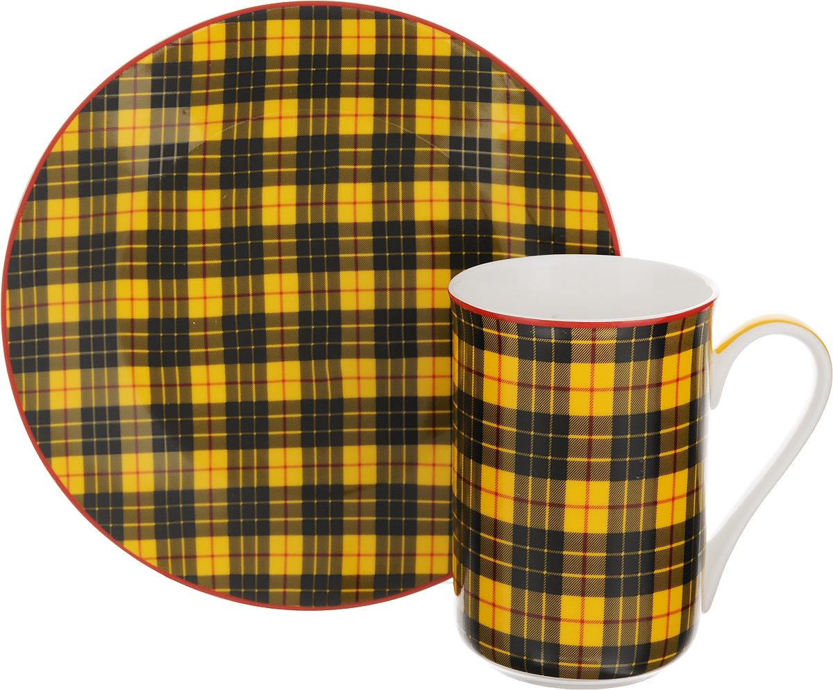 Набор для завтрака Patricia Стиль, 2 предметаIM52-1200Набор для завтрака Patricia Стиль включает кружку и тарелку. Изделия выполнены из фарфора высокого качества и украшены декором в виде традиционной шотландской клетки. Набор идеально подойдет для сервировки завтрака для одной персоны. Такой набор не только порадует своей практичностью, но и станет приятным сувениром для ваших близких. А оригинальное оформление посуды добавит ярких эмоций. Изделия упакованы в подарочную коробку, задрапированную белой атласной тканью. Не рекомендуется мыть в посудомоечной машине и использовать в микроволновой печи. Объем кружки: 370 мл. Диаметр кружки (по верхнему краю): 7,5 см. Высота кружки: 11 см. Диаметр тарелки: 19 см.