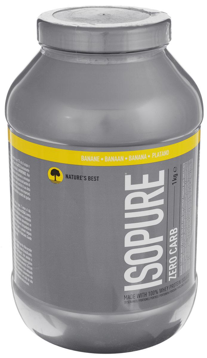 Сывороточный изолят Natures Best IsoPure Zero Carb, банан, 1 кгN2007Сывороточный изолят Natures Best IsoPure Zero Carb - это высококачественный сывороточный изолят с рекордно низким содержанием жиров и углеводов для данного типа продуктов. Попросту ни один сывороточный протеин в порошковой форме не бывает такой чистоты, как IsoPure Zero Carb. Кроме того, он имеет превосходный вкус, что очень важно при каждодневном приеме. Рекомендации по применению: Zero Carb целесообразно употреблять сразу после тренировки для максимального использования эффекта анаболического окна. Рекомендации по приготовлению: 30 г порошка растворить в 250 мл воды или молока до 1,5% жирности. Состав: сывороточный изолят, соевый лецитин, вкусовой наполнитель, краситель, сукралоза. Товар сертифицирован.