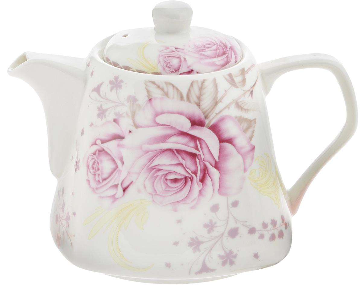 Чайник заварочный Patricia Розовые розы, 700 млIM17-0401Заварочный чайник Patricia Розовые розы изготовлен из высококачественного фарфора. Такой чайник идеально подойдет для заваривания чая. Он хорошо держит температуру, что способствует более полному раскрытию цвета, аромата и вкуса чайного букета. Изделие прекрасно дополнит сервировку стола к чаепитию и станет его неизменным атрибутом. Можно использовать в микроволновой печи и мыть в посудомоечной машине. Диаметр (по верхнему краю): 7,5 см. Диаметр основания: 10,5 см. Высота чайника (с учетом крышки): 12 см.