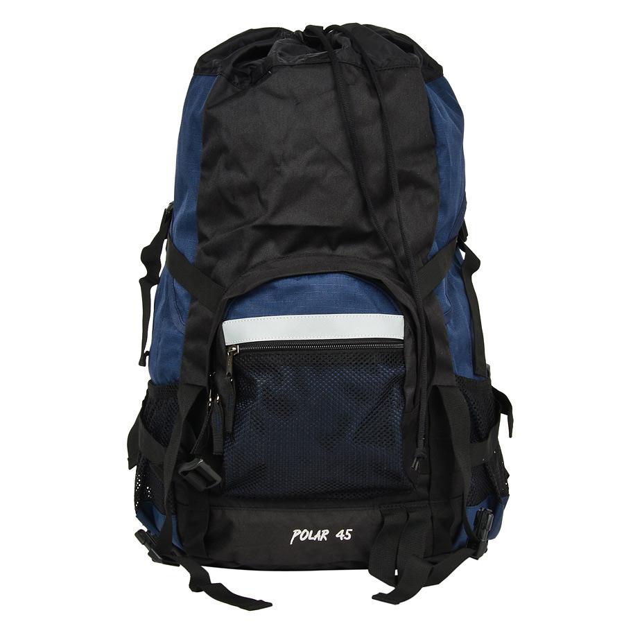 Рюкзак экспедиционный Polar, 45 л, цвет: синий. П301-04П301-04Фирменный туристический рюкзак фирмы Polar, Материал – полиэстер с водоотталкивающей пропиткой. Жесткая спинка с металлическим каркасом. Удобный лямки повторяющие форму плеча уменьшают нагрузку на спину и делают этот рюкзак очень удобным при эксплуатации. Так же предусмотрены грудная и поясничная стяжки лямок. На поясничной стяжке с левой стороны небольшой карман на молнии для мелких предметов. Одно отделение. Карман с органайзером и карманом из трикотажной сетки на молнии внутри. Карман из трикотажной сетки на молнии для мелких предметов. Два боковых кармана из основной ткани. Клапан с двумя карманами на молнии. Стяжки для регулирования объема. Этот рюкзак идеально подойдет для недолговременных походов и позволит Вам взять с собой все необходимое.