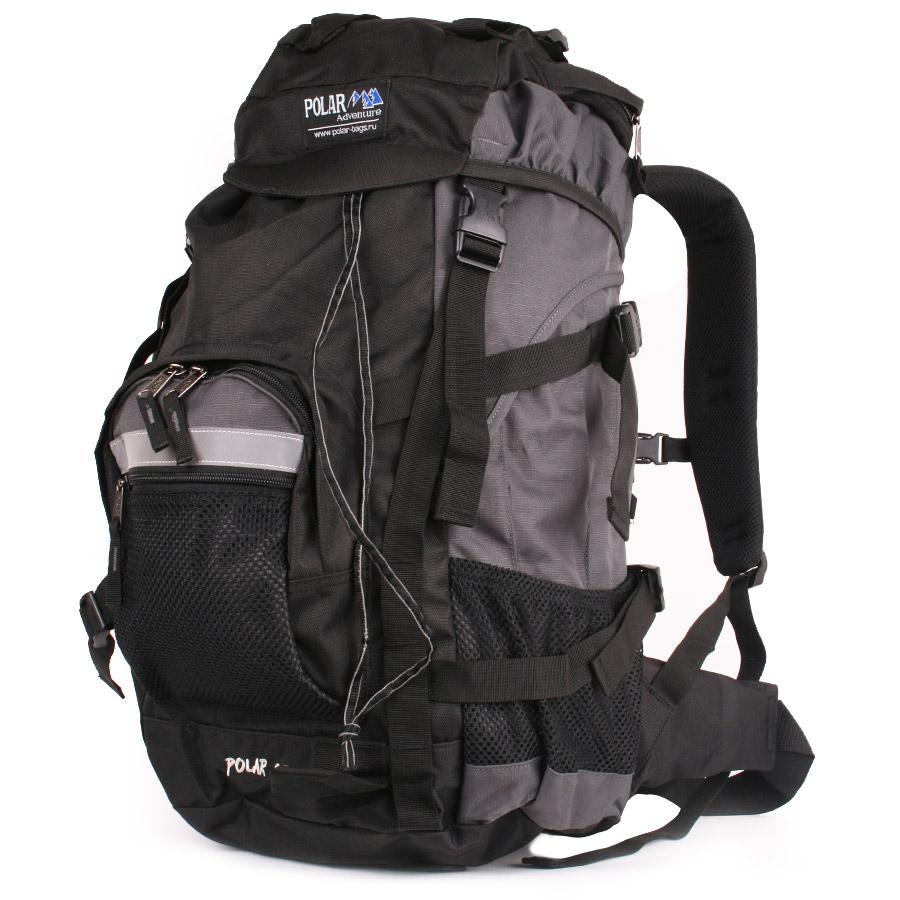 Рюкзак экспедиционный Polar, 45 л, цвет: серый. П301-06П301-06Фирменный туристический рюкзак фирмы Polar, Материал – полиэстер с водоотталкивающей пропиткой. Жесткая спинка с металлическим каркасом. Удобный лямки повторяющие форму плеча уменьшают нагрузку на спину и делают этот рюкзак очень удобным при эксплуатации. Так же предусмотрены грудная и поясничная стяжки лямок. На поясничной стяжке с левой стороны небольшой карман на молнии для мелких предметов. Одно отделение. Карман с органайзером и карманом из трикотажной сетки на молнии внутри. Карман из трикотажной сетки на молнии для мелких предметов. Два боковых кармана из основной ткани. Клапан с двумя карманами на молнии. Стяжки для регулирования объема. Этот рюкзак идеально подойдет для недолговременных походов и позволит Вам взять с собой все необходимое.