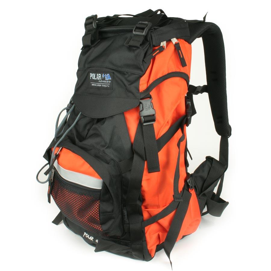 Рюкзак экспедиционный Polar, 45 л, цвет: оранжевый. П301-02П301-02Фирменный туристический рюкзак фирмы Polar, Материал – полиэстер с водоотталкивающей пропиткой. Жесткая спинка с металлическим каркасом. Удобный лямки повторяющие форму плеча уменьшают нагрузку на спину и делают этот рюкзак очень удобным при эксплуатации. Так же предусмотрены грудная и поясничная стяжки лямок. На поясничной стяжке с левой стороны небольшой карман на молнии для мелких предметов. Одно отделение. Карман с органайзером и карманом из трикотажной сетки на молнии внутри. Карман из трикотажной сетки на молнии для мелких предметов. Два боковых кармана из основной ткани. Клапан с двумя карманами на молнии. Стяжки для регулирования объема. Этот рюкзак идеально подойдет для недолговременных походов и позволит Вам взять с собой все необходимое.