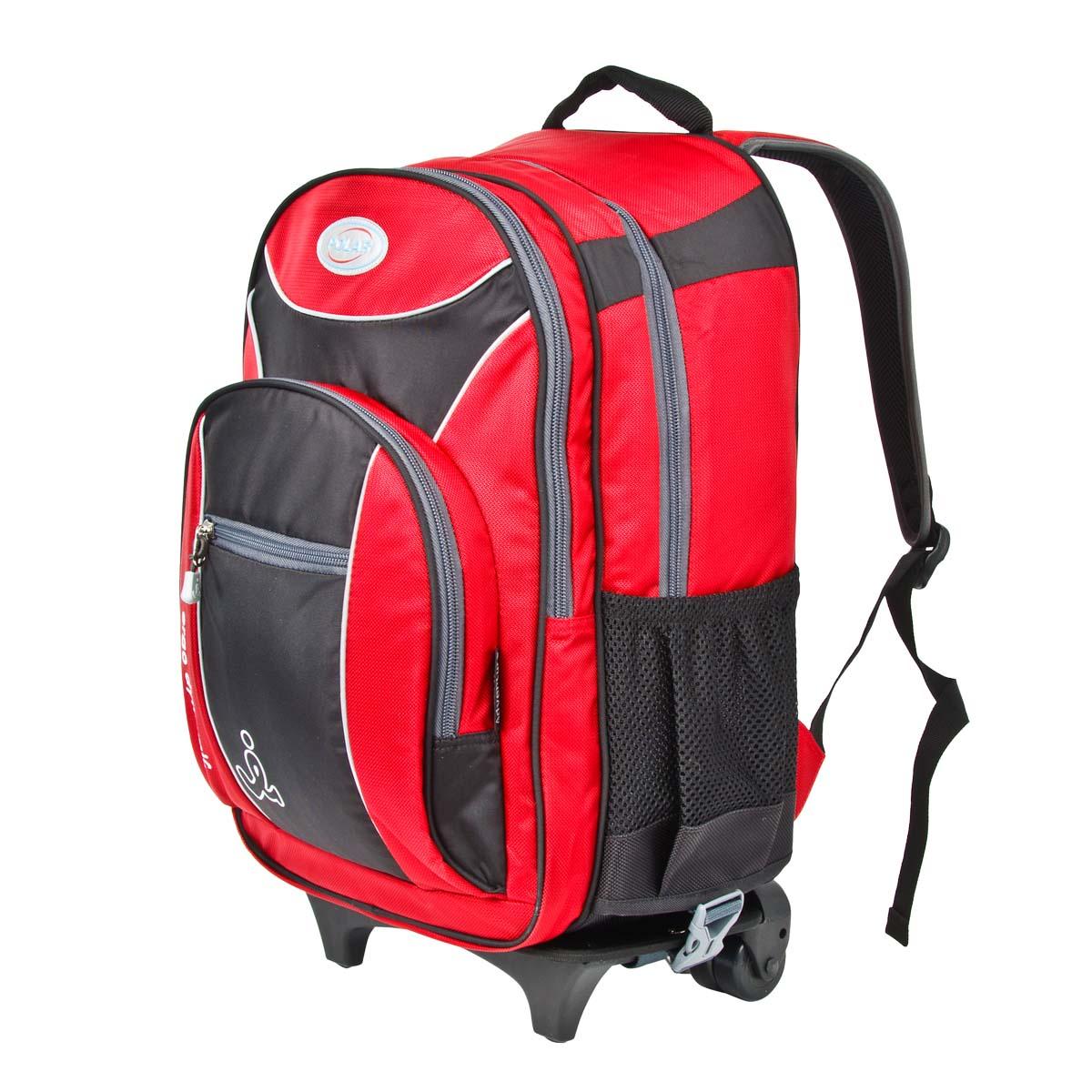 Рюкзак детский городской Polar, 21,5 л, цвет: красный. П382-01П382-01Школьный рюкзак Polar идет в комплекте со съемной тележкой на колесах. Рюкзак легко отстегивается от тележки. У рюкзака 3 отделения и несколько карманов для мелких принадлежностей. В большом отделение жесткая папка для тетрадей А4. Полумягкое дно для безопасности ношения. С обеих сторон имеются карманы для бутылок с водой. Светоотражатели спереди и сзади школьного ранца. Выдвижная ручка фиксируется в двух положениях. Выдвигается на 48 см. Прочные колесики. Подходит для 1-6 классов.