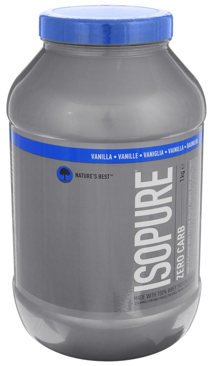 Сывороточный изолят Natures Best IsoPure Zero Carb, ваниль, 1 кгN0016Сывороточный изолят Natures Best IsoPure Zero Carb - это высококачественный сывороточный изолят с рекордно низким содержанием жиров и углеводов для данного типа продуктов. Попросту ни один сывороточный протеин в порошковой форме не бывает такой чистоты, как IsoPure Zero Carb. Кроме того, он имеет превосходный вкус, что очень важно при каждодневном приеме. Рекомендации по применению: Zero Carb целесообразно употреблять сразу после тренировки для максимального использования эффекта анаболического окна. Рекомендации по приготовлению: 30 г порошка растворить в 250 мл воды или молока до 1,5% жирности. Состав: сывороточный изолят, соевый лецитин, вкусовой наполнитель, краситель, сукралоза. Товар сертифицирован.