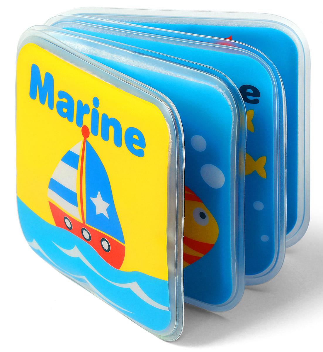 BabyOno Книжка-игрушка Кораблик891_корабликКнижка-игрушка BabyOno - это 8 цветных мягких страниц, которые учат различать цвета и животных. На страничках книжки поселились животные, с которыми малыш с удовольствием познакомится во время купания. Книжечка подойдет не только для ванной, ее можно использовать в обычной игре малыша в комнате или на прогулке. Яркие странички книжки пищат при нажатии, чем привлекут внимание ребенка. Книжка-пищалка развивает мануальные способности. Интенсивные цвета и различные формы вызывают интерес и привлекают внимание ребенка. Книжка изготовлена из безопасных, прочных и нетоксичных материалов. Не содержит бисфенол А.