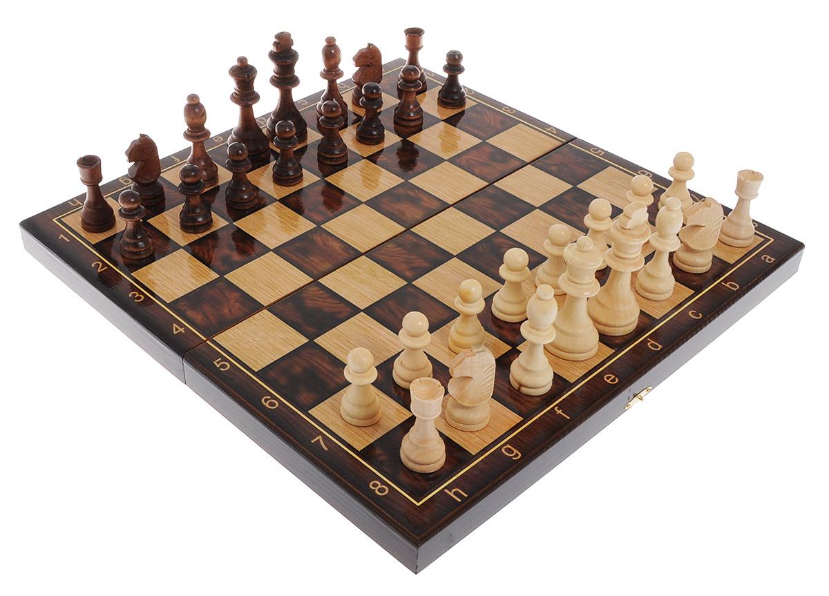 Игровой набор 3в1 Perfecto Классический: нарды, шахматы, шашкиsh-014Игровой набор 3в1 Perfecto Классический - это сразу 3 игры: нарды, шахматы и шашки. В набор входят шахматные фигуры, фишки для нард и шашек, 2 кубика и кейс. Изделия выполнены из высококачественной древесины березы и хвойных пород деревьев. Деревянный лакированный кейс выполнен в классическом дизайне и имеет два поля: внутреннее для игры в нарды и поле снаружи для шахмат и шашек. Кейс закрывается на металлический замок. Такой набор станет замечательным подарком к любому случаю. Качество, дизайн и функциональность сделают его желанным для каждого. Размер кейса в сложенном виде: 40 х 20 х 5 см. Размер игрового поля для игры в нарды/шахматы/шашки: 40 х 40 см. Диаметр шашки: 1,8 см. Высота короля: 9 см.