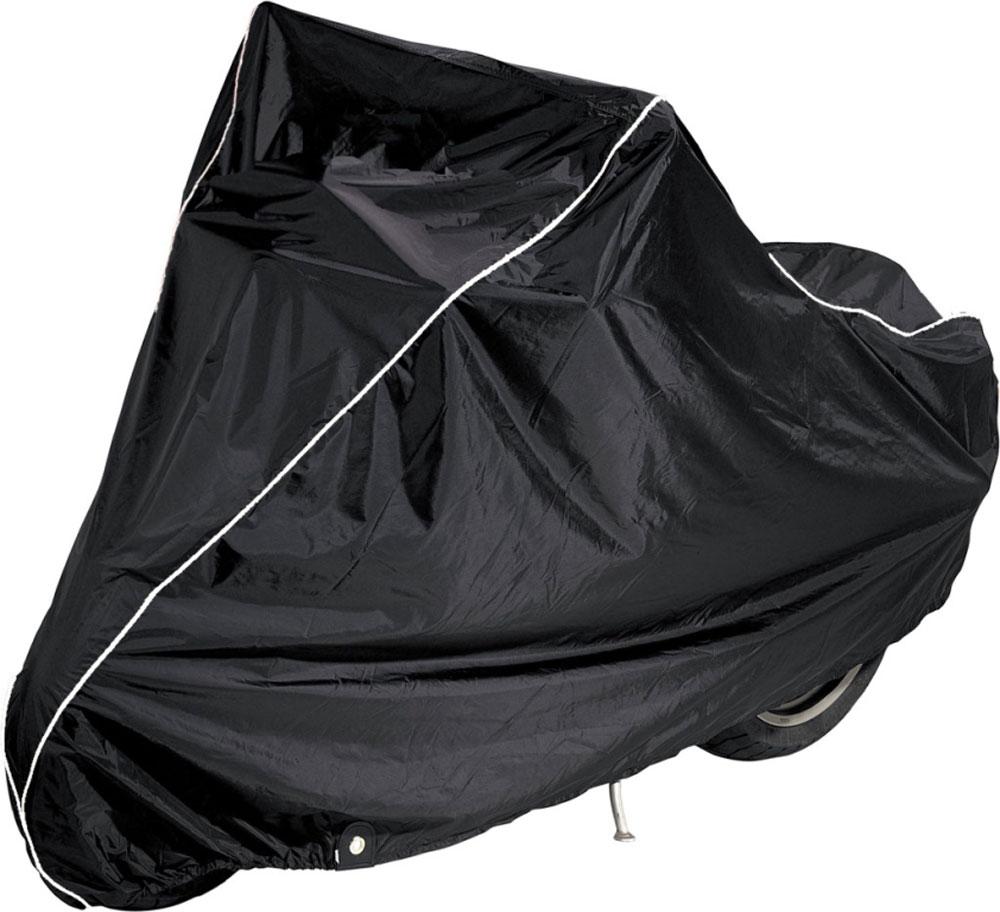 Чехол AG-brand, для мотоцикла BMW K1600GT, цвет: черный, голубойAG-BMW-MC-K1600GT-SCЧехол AG-brand предназначен для хранения мотоцикла K1600GT любого года выпуска. Он изготовлен из высокопрочной плотной тентовой ткани с высоким показателем водоупорности. Изделие имеет светоотражающий кант. Благодаря чехлу, отражающему солнечные лучи, техника не нагревается на солнце. Чтобы любое транспортное средство служило долгие годы, необходимо не только соблюдать все правила его эксплуатации, но и правильно его хранить. Негативное влияние на состояние мототехники оказывают прямые солнечные лучи, влага, пыль, которые не только могут вызвать коррозию внешних металлических поверхностей, но и вывести из строя внутренние механизмы транспортных средств. Необходимо создать условия для снижения воздействия этих негативных факторов. Именно для этого и предназначены чехлы. Чехол для транспортировки и хранения входит в комплект.