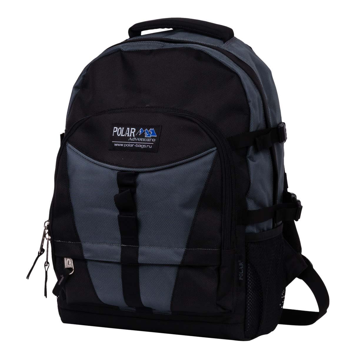 Рюкзак городской Polar, 27,5 л, цвет: серый. П939-06П939-06Отделение для ноутбука 28х5х35 . Оригинальная модель для ноутбука фирмы Polar. Материал – полиэстер с водоотталкивающей пропиткой. Удобная спинка с вертикальными вставками из пены и трикотажной сетки, для лучшей циркуляции воздуха. Удобные лямки с грудной стяжкой лямок. Внутри большого отделения есть отделение для ноутбука + дополнительное отделение и два кармана из сетки с клапанами на липучке для мышки и зарядного устройства. Снаружи расположены стяжки (4 шт.) для регулирования объема. Два боковых кармана из сетки. Вместительный карман с органайзером и дополнительными кармашками. Дополнительно в комплект входит съемный чехол, что позволит надежней сохранить ваши вещи в дождливую погоду. Вместительный и очень удобный рюкзак позволит вам взять с собой все необходимое как для вашего портативного компьютера, так и для себя. Материал: Cordura PU 1000D.