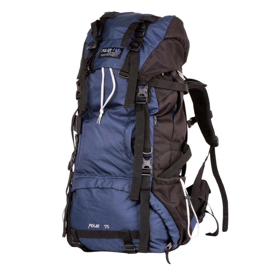 Рюкзак экспедиционный Polar, 70 л, цвет: синий. П992-04П992-04Туристический рюкзак фирмы Polar. Отлично оснащенный рюкзак для альпинизма и туризма. Двойной доступ к основному отделению, множество карманов для мелочей и документов, карабин для ключей, карман для мобильного. Возможность крепления на рюкзак дополнительного оборудования. Регулируемая грудная стяжка с фиксатором. Регулируемый по длине поясной ремень с карманами на змейке. Материал: Polyester PU 600D.