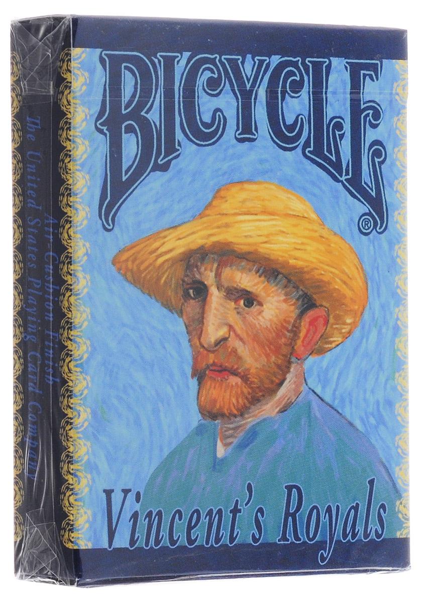 Карты игральные коллекционные Bicycle Винсент Ван Гог, ограниченная серия, 54 картыК-581Игральные коллекционные карты Bicycle Винсент Ван Гог с уникальными рисунками и особым дизайном выпускаются ограниченным тиражом. Их отпечатано всего 1100 колод, и они никогда не будут переизданы снова. Компания USPCC обычно не печатает карты такими маленькими тиражами, этим и объясняется высокая цена колоды. Но именно поэтому они имеют особую коллекционную ценность. На каждой этикетке напечатан номер колоды, и вы можете быть уверены, что ваша колода одна единственная из всей серии.