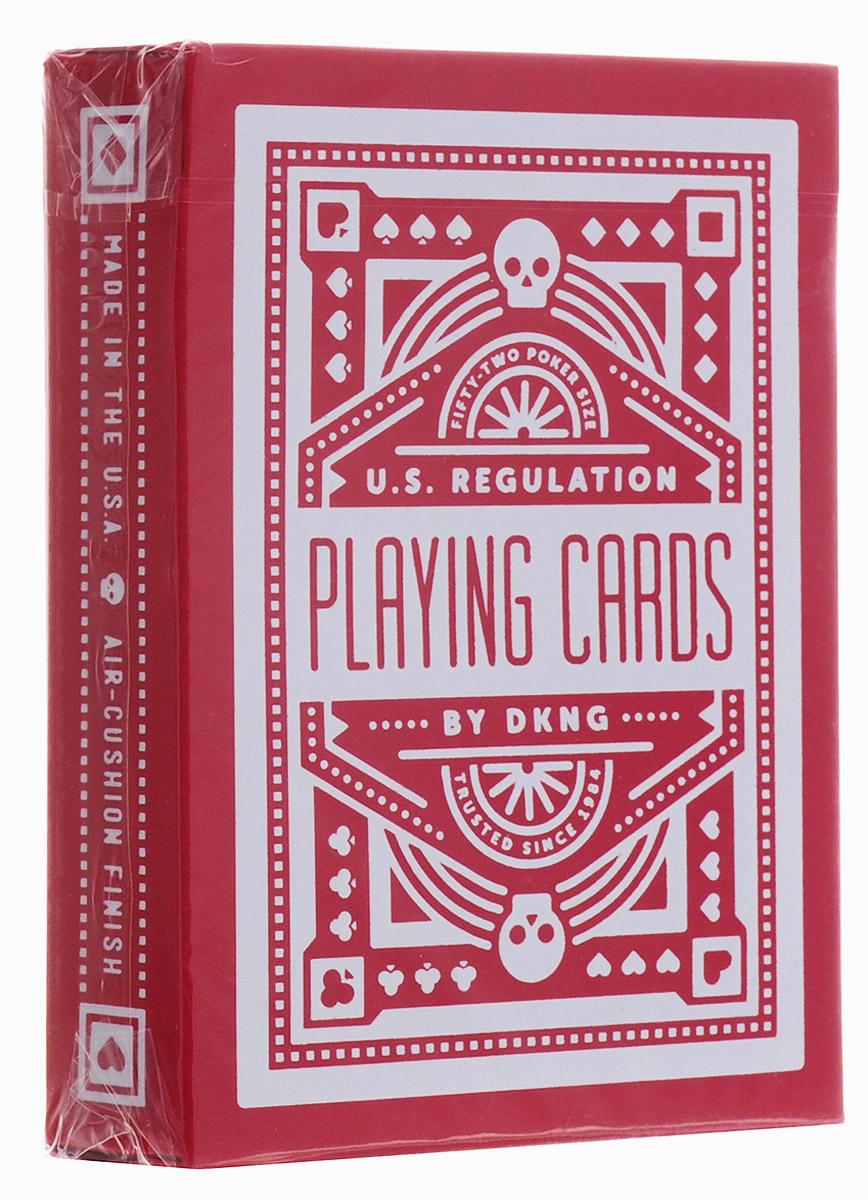 Карты игральные Art of Play Красное колесо, 54 картыК-585Карты игральные Art of Play Красное колесо созданы благодаря сотрудничеству с калифорнийской студией DKNG, которая помогает ведущим мировым художникам в иллюстрации и дизайне. Дизайн карт Красное колесо берет свое начало от классических карт Bicycle Rider Back, однако в него добавлены новые современные веяния. Карты напечатаны на заводе USPCC с использованием самого современного способа покрытия колоды.