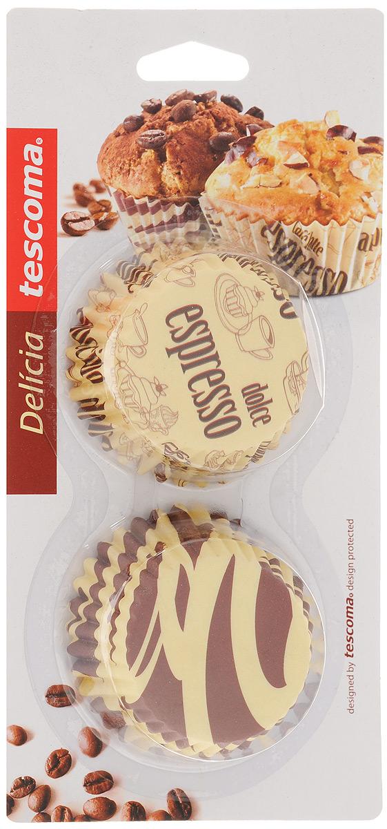 Набор форм для выпечки Tescoma Delicia, диаметр 6 см, 60 шт. 630604630604Формы для выпечки Tescoma Delicia, изготовленные из бумаги, выдерживают температуру до 220°C. В комплекте 60 форм. Если вы любите побаловать своих домашних вкусным и ароматным угощением по вашему оригинальному рецепту, то формы Tescoma Delicia как раз то, что вам нужно! Диаметр формы: 6 см. Высота формы: 3 см.