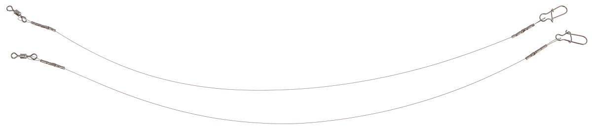 Поводок Win Soft, мягкий, тест 4 кг, 17,5 см, 2 шт56972Поводок Win Soft изготовлен из особого титанового сплава. Материал производится по специальной технологии, отличается специальным легированием и дополнительной термомеханической обработкой. Мягкость и пластичность обеспечивает приманке большую свободу движений. При небольших механических повреждениях поводок восстанавливает форму от тепла рук. Многократно растягивается до 8% под нагрузкой без ущерба прочности. Не подвержен коррозии, не токсичен. Особенности поводка: Многократно испытан на прочность. Высококачественная фурнитура подобрана с достаточным запасом прочности. Контроль качества на всех этапах производства. Длина поводков: 17,5 см. Тест: 4 кг. Диаметр: 0,2 мм.