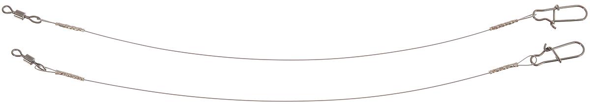 Поводок Win Soft Mirror, мягкий, тест 12 кг, 15 см, 2 шт56995Поводок Win Soft Mirror изготовлен из особого титанового сплава. Он отражает и рассеивает свет, при невысокой освещенности становится невидимым. Мягкость и пластичность обеспечивает приманке большую свободу движений. При небольших механических повреждениях поводок восстанавливает форму от тепла рук. Многократно растягивается до 8% под нагрузкой без ущерба прочности. Не подвержен коррозии, не токсичен. Особенности поводка: Многократно испытан на прочность. Высококачественная фурнитура подобрана с достаточным запасом прочности. Контроль качества на всех этапах производства. Длина поводков: 15 см. Тест: 12 кг. Диаметр: 0,35 мм.