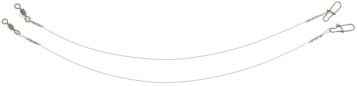 Поводок Win Soft Mirror, мягкий, тест 6 кг, 12,5 см, 2 шт56986Поводок Win Soft Mirror изготовлен из особого титанового сплава. Он отражает и рассеивает свет, при невысокой освещенности становится невидимым. Мягкость и пластичность обеспечивает приманке большую свободу движений. При небольших механических повреждениях поводок восстанавливает форму от тепла рук. Многократно растягивается до 8% под нагрузкой без ущерба прочности. Не подвержен коррозии, не токсичен. Особенности поводка: Многократно испытан на прочность. Высококачественная фурнитура подобрана с достаточным запасом прочности. Контроль качества на всех этапах производства. Длина поводков: 12,5 см. Тест: 6 кг. Диаметр: 0,25 мм.