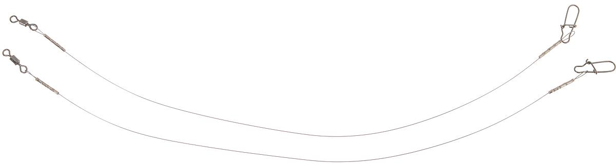 Поводок Win Soft Mirror, мягкий, тест 6 кг, 17,5 см, 2 шт56988Поводок Win Soft Mirror изготовлен из особого титанового сплава. Он отражает и рассеивает свет, при невысокой освещенности становится невидимым. Мягкость и пластичность обеспечивает приманке большую свободу движений. При небольших механических повреждениях поводок восстанавливает форму от тепла рук. Многократно растягивается до 8% под нагрузкой без ущерба прочности. Не подвержен коррозии, не токсичен. Особенности поводка: Многократно испытан на прочность. Высококачественная фурнитура подобрана с достаточным запасом прочности. Контроль качества на всех этапах производства. Длина поводков: 17,5 см. Тест: 6 кг. Диаметр: 0,25 мм.