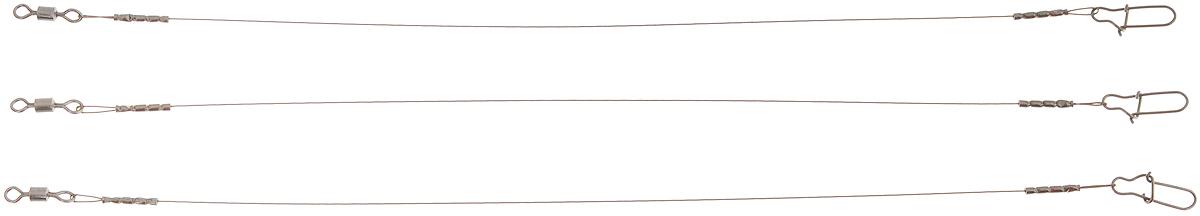 Поводок Win AFW, тест 8 кг, 15 см, 3 шт56961Поводки Win AFW выполнены из высококачественного материала Surfstrand Micro Supreme 7x7 AFW. Данный материал имеет маскирующее покрытие САМО, подходящее для большинства водоемов. Поводки очень мягкие и устойчивые к деформациям, не подвержены коррозии, деформациям. Особенности поводков: Многократно испытаны на прочность. Высококачественная фурнитура подобрана с достаточным запасом прочности. Контроль качества на всех этапах производства. Длина поводков: 15 см. Тест: 8 кг. Диаметр: 0,28 мм.
