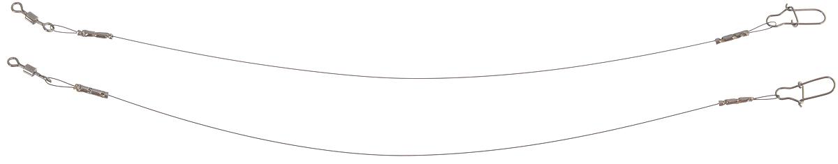 Поводок Win Soft, мягкий, тест 4 кг, 10 см, 2 шт56970Поводок Win Soft изготовлен из особого титанового сплава. Материал производится по специальной технологии, отличается специальным легированием и дополнительной термомеханической обработкой. Мягкость и пластичность обеспечивает приманке большую свободу движений. При небольших механических повреждениях поводок восстанавливает форму от тепла рук. Многократно растягивается до 8% под нагрузкой без ущерба прочности. Не подвержен коррозии, не токсичен. Особенности поводка: Многократно испытан на прочность. Высококачественная фурнитура подобрана с достаточным запасом прочности. Контроль качества на всех этапах производства. Длина поводков: 10 см. Тест: 4 кг. Диаметр: 0,2 мм.