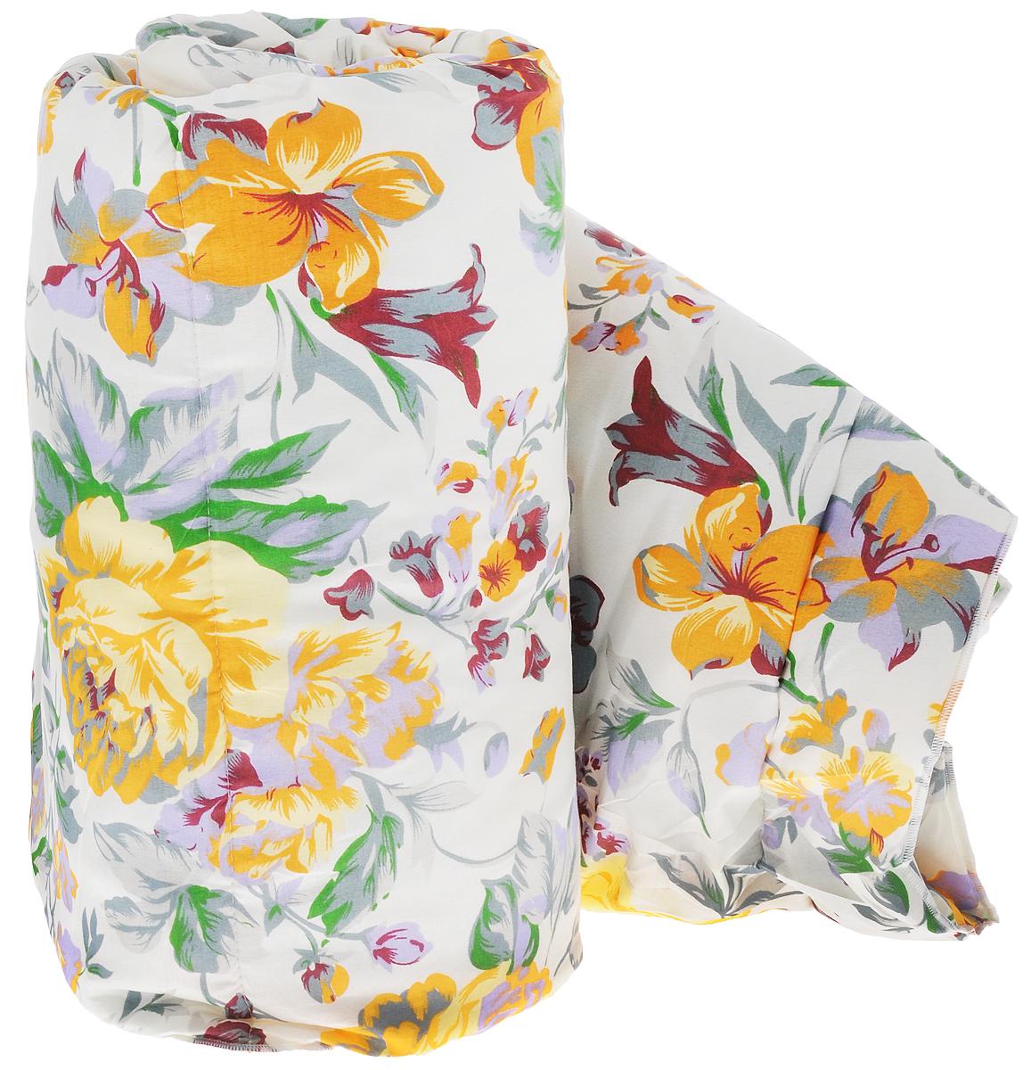 Одеяло легкое Sleeper Дили, наполнитель: силиконизированное волокно, 172 х 200 см20(13)323Одеяло Sleeper Дили представляет собой чехол из микрофлоры, изготовленный из синтетического силиконизированного волокна (100% полиэстер) и оформлен красивым рисунком. Такое одеяло подарит уют и комфорт во время сна. Изделия с синтетическим наполнителем имеют хорошую циркуляцию воздуха, быстро восстанавливают форму, они мягкие и упругие, удобны в уходе и эксплуатации. Одеяло очень легкое, удобное и комфортное, оно создаст оптимальный микроклимат в постели - в теплое время года под ним не будет ни холодно, ни жарко. Рекомендации по уходу: - Ручная и машинная стирка при температуре 40°С. - Не гладить. - Не отбеливать. - Сушить при низкой температуре. - Химчистка с использованием углеводорода, хлорного этилена. Размер одеяла: 172 см х 200 см. Материал чехла: микрофибра (100% полиэстер). Материал наполнителя: силиконизированное волокно (100% полиэстер). Масса наполнителя: 0,5 кг.