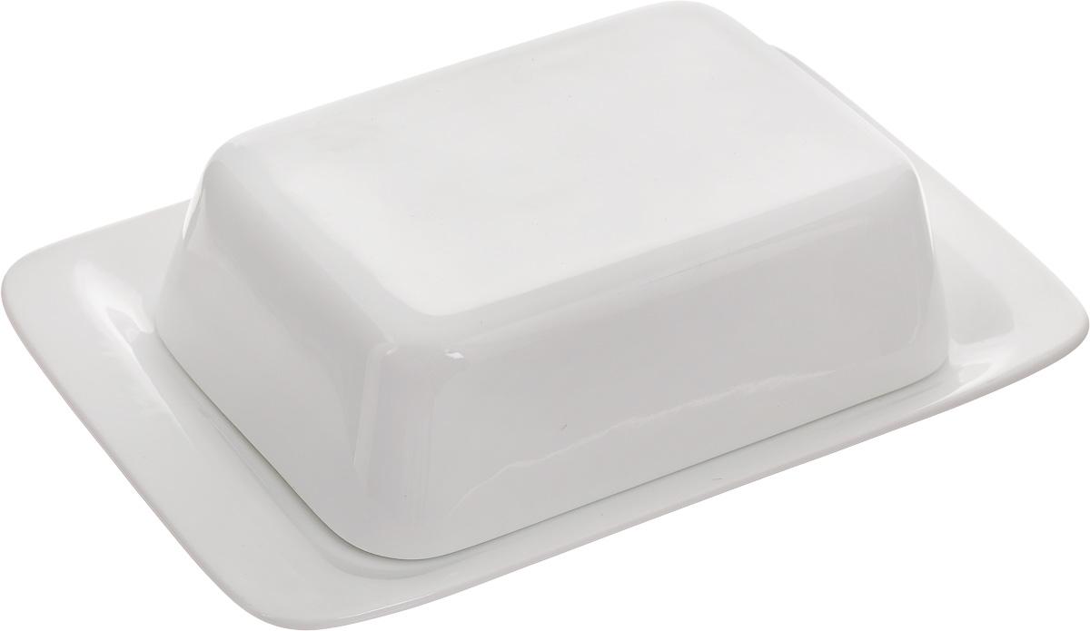 Масленка Tescoma Gustito386390Масленка Tescoma Gustito, изготовленная из высококачественного фарфора, состоит из подноса и крышки. Изделие предназначено для красивой сервировки и хранения масла. Масленка Tescoma Gustito впишется в любой интерьер современной кухни, а также станет замечательным подарком для ваших родных и близких. Можно использовать в микроволновой печи и мыть в посудомоечной машине. Размер масленки: 20 х 13,3 х 5,5 см.