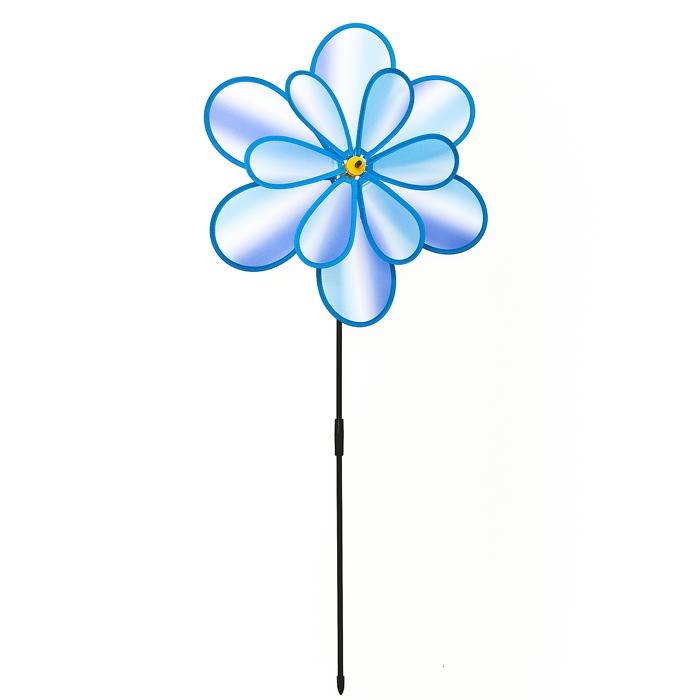 Декоративная фигура-вертушка Village people Радужный цветок. 66926_366926_3