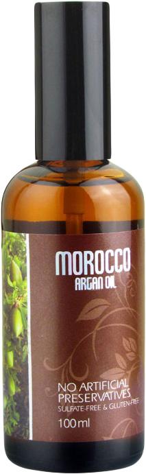 Morocco Argan Oil Масло арганы для волос 100 мл6590131Марокканское аргановое масло - непревзойденный по своим ценным качествам природный ингредиент, который равномерно покрывает волосы, не утяжеляя их и не оставляя липкости и жирного блеска. После использования масла волосы становятся более упругими, восстанавливаются изнутри, лучше расчесываются и надежно защищены от солнца, перепадов температур и других негативных воздействия. Масло семян льна является эффективной профилактикой выпадения волос, изнутри питает кожу головы и волосы, восполняет дефицит необходимых веществ. Благодаря льняному маслу снижается избыточное салоотделение, перхоть исчезает. Это масло усиливает и дополняет действие масла арганы и делает его максимально эффективным.