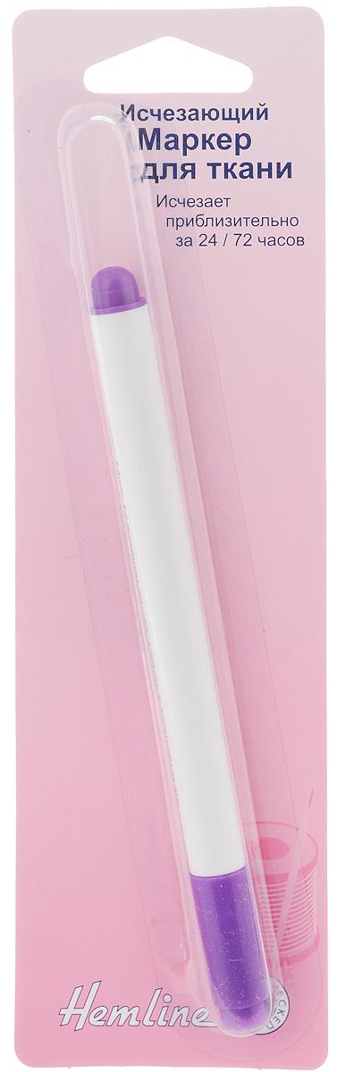 Маркер для ткани Hemline, исчезающий296Исчезающий маркер Hemline используется для нанесения тонких линий на ткань при шитье и вышивке. Вся маркировка бледнеет и исчезает приблизительно за 24-72 часа. Отлично подходит для использования на тканях, не пригодных для стирки. При необходимости линии можно удалить влажной тканью или смыть холодной водой. Перед применением рекомендуется протестировать маркер на ненужном кусочке ткани, так как состав волокон ткани может влиять на время исчезновения линий. Вся временная маркировка должна быть удалена до утюжки или стирки с использованием моющих средств. Длина маркера: 13,5 см. Толщина нити:1 мм.