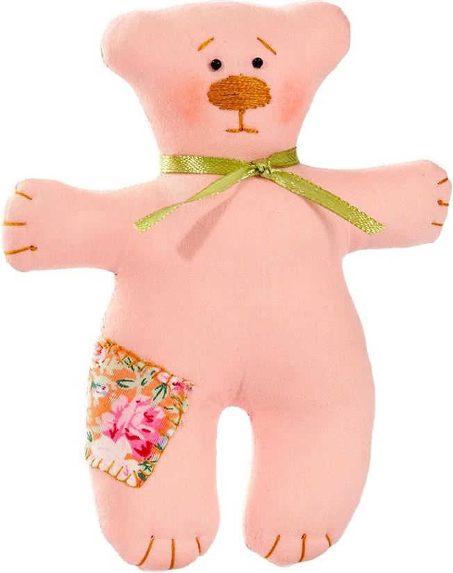 Набор для шитья игрушки Цветница Медвежонок Любимчик, 13 смИН005Медвежонок Любимчик. Набор для шитья текстильной игрушки. Туловище игрушки выстрочено. Наполнитель для набивания в комплект не входит. Комплектность набора: Выстроченная деталь туловища, ткань для остальных деталей- хлопок 100%, нитки мулине, бусины, инструмент для выворачивания, лента атласная, инструкция по пошиву. Размер в готовом виде (высота), см: 13.