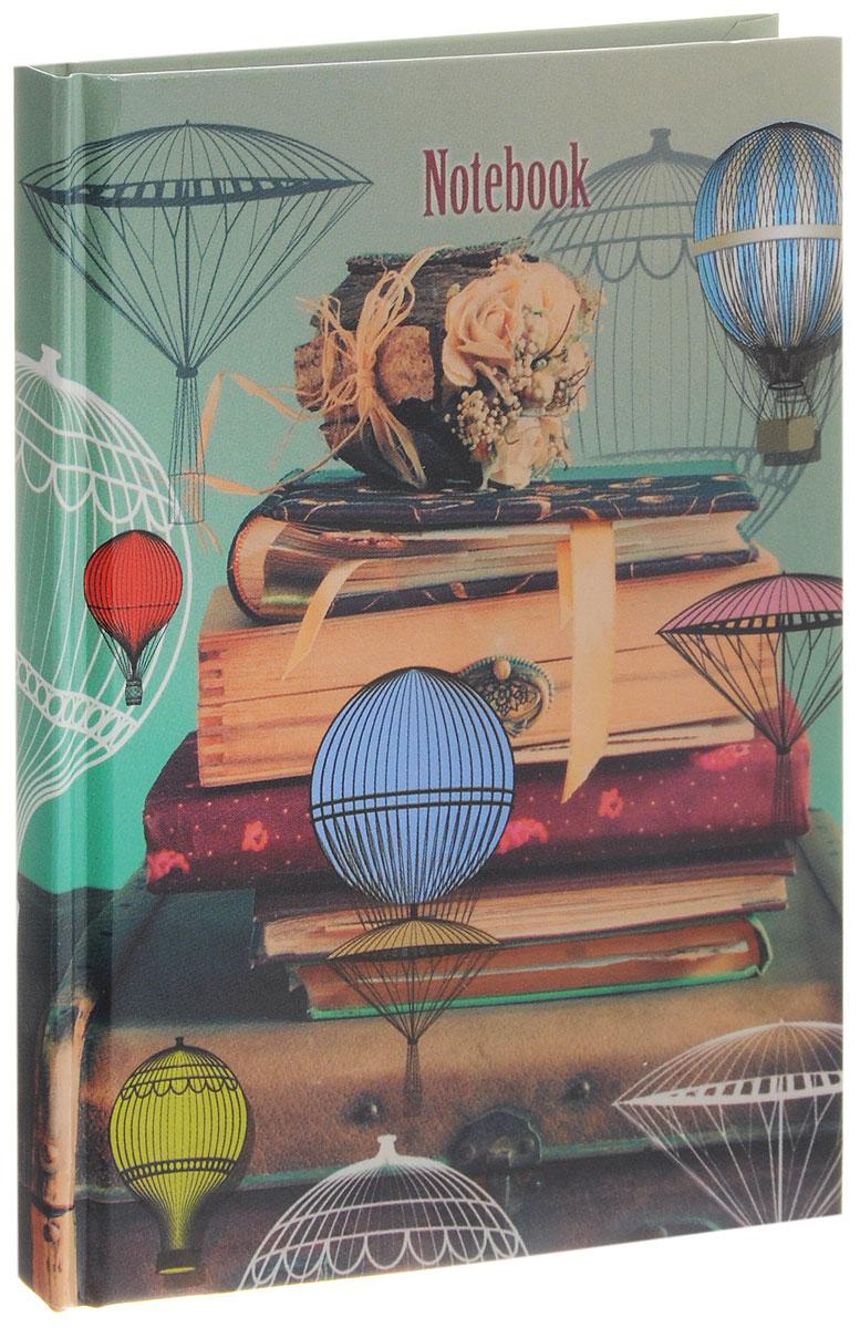 Listoff Записная книжка Аэростаты 96 листов в клетку формат А6