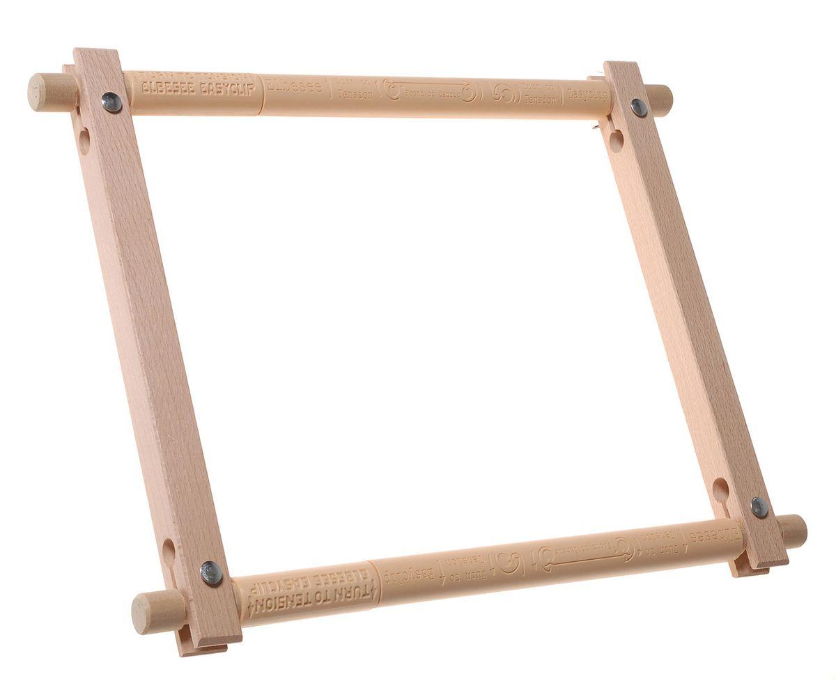 Пяльцы-рамка Elbesee 30 х 30 смE1212Канва легко закрепляется на планках с помощью зажимов. Необходимое количество зажимов входит в комплект. Материал: дерево