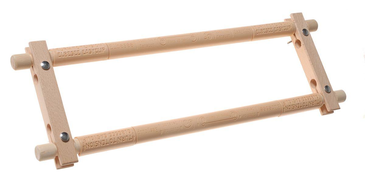 Пяльцы-рамка Elbesee 38 х 15 смE156Канва легко закрепляется на планках с помощью зажимов. Необходимое количество зажимов входит в комплект. Материал: дерево