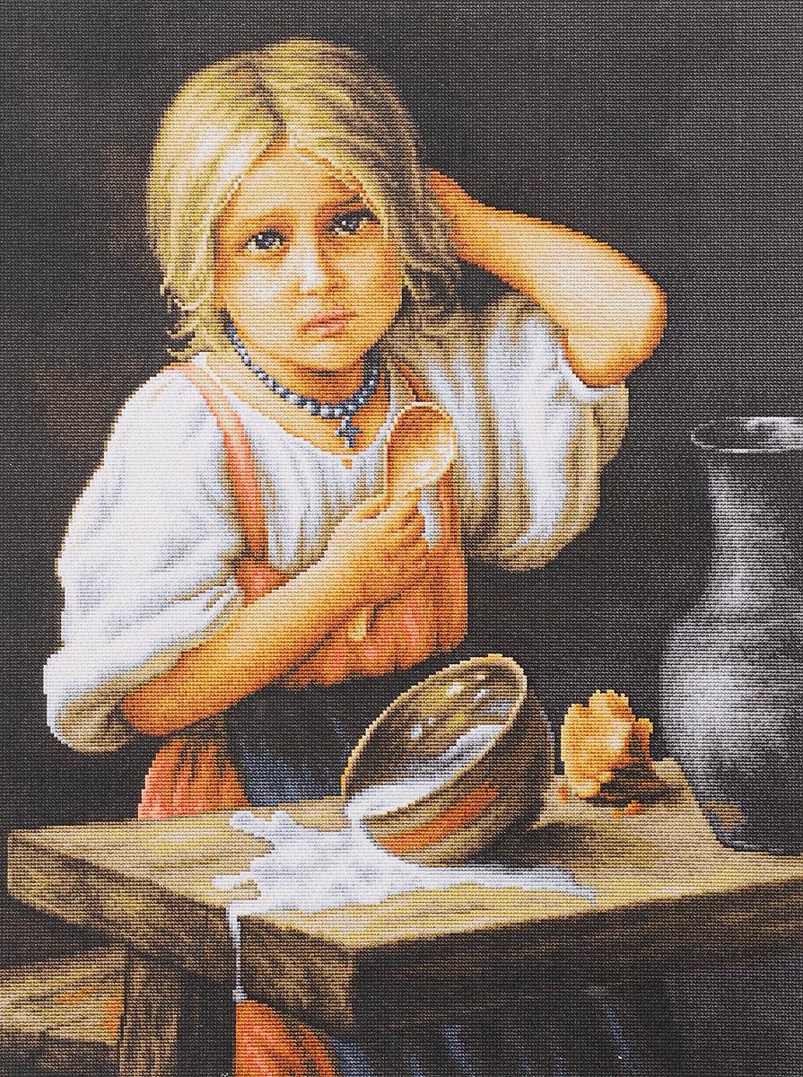 Набор для вышивания крестом Luca-S Крестьянка, 34 х 44 смB515Набор для вышивания крестом Luca-S Крестьянка поможет создать красивую вышитую картину. Рисунок-вышивка, выполненный на канве, выглядит стильно и модно. Вышивание отвлечет вас от повседневных забот и превратится в увлекательное занятие! Работа, сделанная своими руками, не только украсит интерьер дома, придав ему уют и оригинальность, но и будет отличным подарком для друзей и близких! Набор содержит все необходимые материалы для вышивки на канве в технике счетный крест. В набор входит: - канва Aida Zweigart №18 (бежевого цвета), - мулине Anchor - 100% мерсеризованный хлопок (47 цветов), - черно-белая символьная схема, - инструкция на русском языке, - игла. Размер готовой работы: 34 х 44 см. Размер канвы: 50,5 х 58 см.