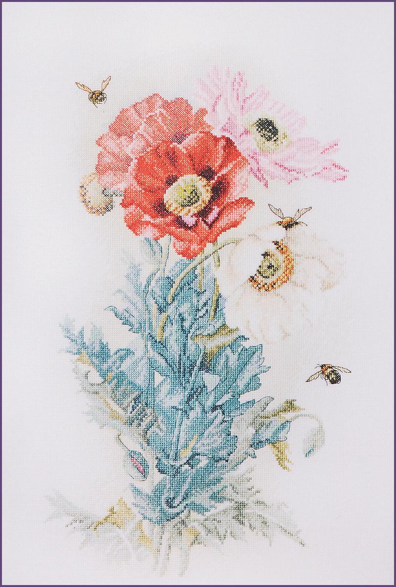 Набор для вышивания крестом Марья Искусница Цветок ангелов, 30 х 45 см06.002.24Красивый и стильный рисунок-вышивка, выполненный на канве, выглядит оригинально и всегда модно. Работа, сделанная своими руками, создаст особый уют и атмосферу в доме и долгие годы будет радовать вас и ваших близких. А подарок, выполненный собственноручно, станет самым ценным для друзей и знакомых. В наборе для вышивания Марья Искусница Цветок ангелов есть все необходимое для создания собственного чуда. В набор входит: - канва Aida 14 Zweigart (цвет: белый) без рисунка, - мулине Finca (хлопок) - 36 цветов, - черно-белая символьная схема, - инструкция по вышиванию русском языке Hemline, - игла Hemline. Набор содержит все необходимые материалы для вышивки на канве в технике счетный крест. Схема вышивания Цветок ангелов выполнена по мотивам работы П. де Лонгпре. Размер канвы: 55 х 50 см.