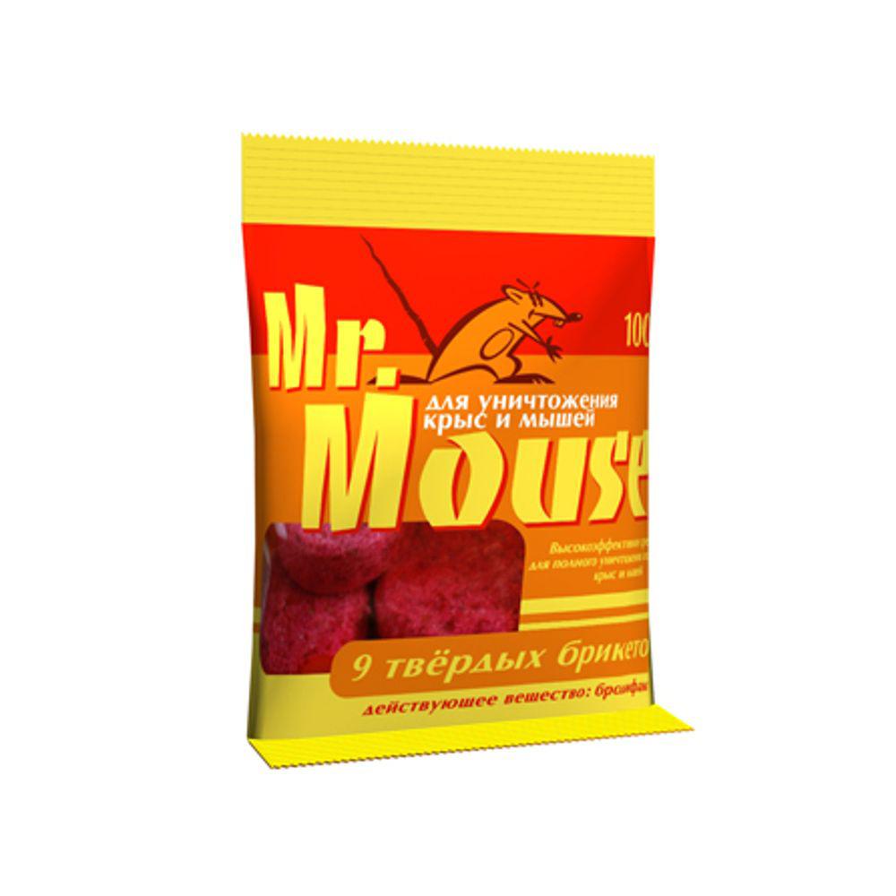 Парафин брикет от грызунов Mr.Mouse, 100 г. СЗ.040004СЗ.040004Mr.Mouse твердый брикет, предназначен для уничтожения крыс и мышей. Способы применения Поместить брикет целиком или, разломав на части, в емкости для раскладки, или на подложке по 1 брикету от мышей и по 1-3 брикета от крыс поблизости от их нор, на путях перемещения, вдоль стен и перегородок. Расстояние между точками раскладки 2-10 метров в зависимости от захламленности помещений и численности грызунов. Осмотр проводят через 1-2 дня, а затем с интервалом в одну неделю, восполняя по мере поедания. Загрязненную приманку следует заменить на новую. Нетронутые брикеты можно перенести в другое место. Работу проводят до исчезновения грызунов. Действующие вещество: брoдифакум - 0,005%