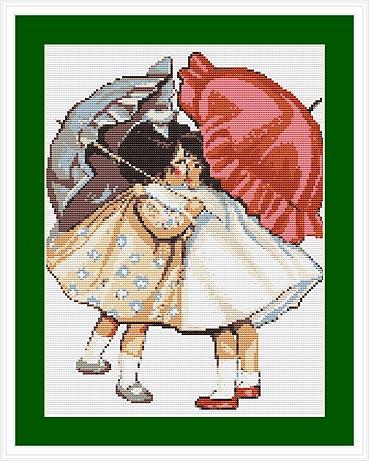 Набор для вышивания Luca-S Примирившиеся девочки, 14 см х 18 смG378Набор для вышивания Luca-S, канва для гобелена, 10 клеток в 1см,мулине Anchor , 12 цветов , игла, ч/б схема, 14x18 см Ткань разграничена на клетки по 10 пунктов, как и на схеме, что существенно облегчает работу вышивальщицы.