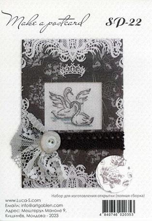 Набор для изготовления открытки Luca-S, 10 см х 14 см(S)P-22Набор для изготовления открытки, канва аида 16,паспарту,заготовка для открытки,игла,мулине,пришивн. украшения,ленты,скотч, вышивка крестом и скрапбукинг, 10х14 см, полная сборка . Набор для самостоятельного изготовления открытки.Полная сборка,содержит элементы для вышивания.