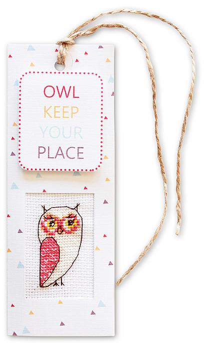 Набор для изготовления закладки с вышитым элементом Luca-S Owl keep your place, 5,5 см х 15 смN50Набор для изготовления закладки с вышитым элементом Owl keep your place, 5,5 х 15 см Цветной картон: 10 х 15 cм. Ниточка: 30 cм. Канва Аида 18 Zweigart белого цвета 6 x 7 cм. Мулине Anchor: 7 цветов по 0,5 метра. Двойной скотч: 5 x 8 cм. Объёмный двойной скотч: 2,5 x 2,5 cм. Схема и инструкция на русском языке.
