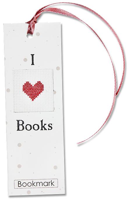 Набор для изготовления закладки с вышитым элементом Luca-S  I Love Books, 5,5 см х 15 смN28Набор для изготовления закладки с вышитым элементом  I Love Books, 5,5 х 15 см Цветной картон: 10 х 15 cм. Ленточка: 30 cм. Канва Аида 18 Zweigart белого цвета 5 x 5 cм. Мулине Anchor: 1 цвет 50 cм. Двойной скотч: 5 x 8 cм. Объёмный двойной скотч: 2,5 x 2,5 cм. Иголка: 1шт. Схема и инструкция на русском языке.