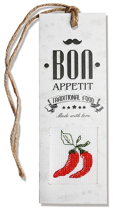 Набор для изготовления закладки с вышитым элементом Luca-S  Bon appetit, 5,5 см х 15 смN41Набор для изготовления закладки с вышитым элементом  Bon appetit, 5,5 х 15 см Цветной картон:10 х 15 см. Ленточка: 30 см. Канва Аида 18 Zweigart белого цвета 6 x 7 см. Мулине Anchor: 1 цвет 0,5 метра. Двойной скотч: 5 x 8 см. Объёмный двойной скотч: 2,5 x 2,5 см. Иголка: 1шт. Схема и инструкция на русском языке.