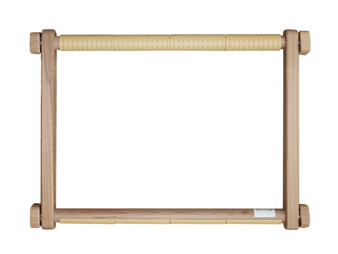 Пяльцы Luca-S, рамка деревянная c пластиковыми клипсами, 20 см х 24 смS20*24смПяльцы - рамка деревянная c пластиковыми клипсами, 20 х 24 см