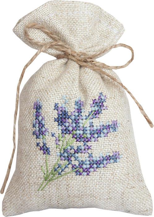 Набор для вышивания крестом Luca-S Мешочек для саше. Веточка лаванды, 15 х 10 смPM1217Набор для вышивания крестом Luca-S Веточка лаванды поможет создать своими руками красивый мешочек для саше с рисунком-вышивкой. Саше - это маленькие мешочки или подушечки из ткани, наполненные лепестками цветов, душистыми травами, веточками, пряностями, иногда с добавлением капельки ароматного масла. В прежние времена саше были очень популярны и обязательно были в доме у каждой уважающей себя хозяйки. Саше - это один из самых простых способов заставить окружающие нас вещи приятно пахнуть. Вышивание отвлечет вас от повседневных забот и превратится в увлекательное занятие! Работа, сделанная своими руками, будет отличным подарком для друзей и близких! Набор содержит все необходимые материалы для вышивки на канве в технике счетный крест. В набор входит: - канва Fein-Floba - 70% вискоза, 30% лен (цвет льна), - мулине Anchor - 100% хлопок (5 цветов), - цветная схема, - инструкция на русском языке, - шнурок для...
