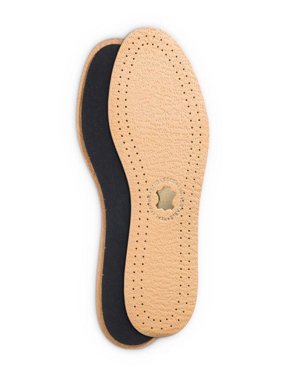 Дезодорирующая стелька Duke of Dubbin Duke Leder Activ, с покрытием из вискозы. Размер 469012 461Дезодорирующая стелька с покрытием из вискозы повышает комфорт при хотьбе и обеспечивает дополнительную амортизацию. Фильтр из активированного угля нейтрализует запах, а перфорации на подошве поддерживают циркуляцию воздуха в обуви.
