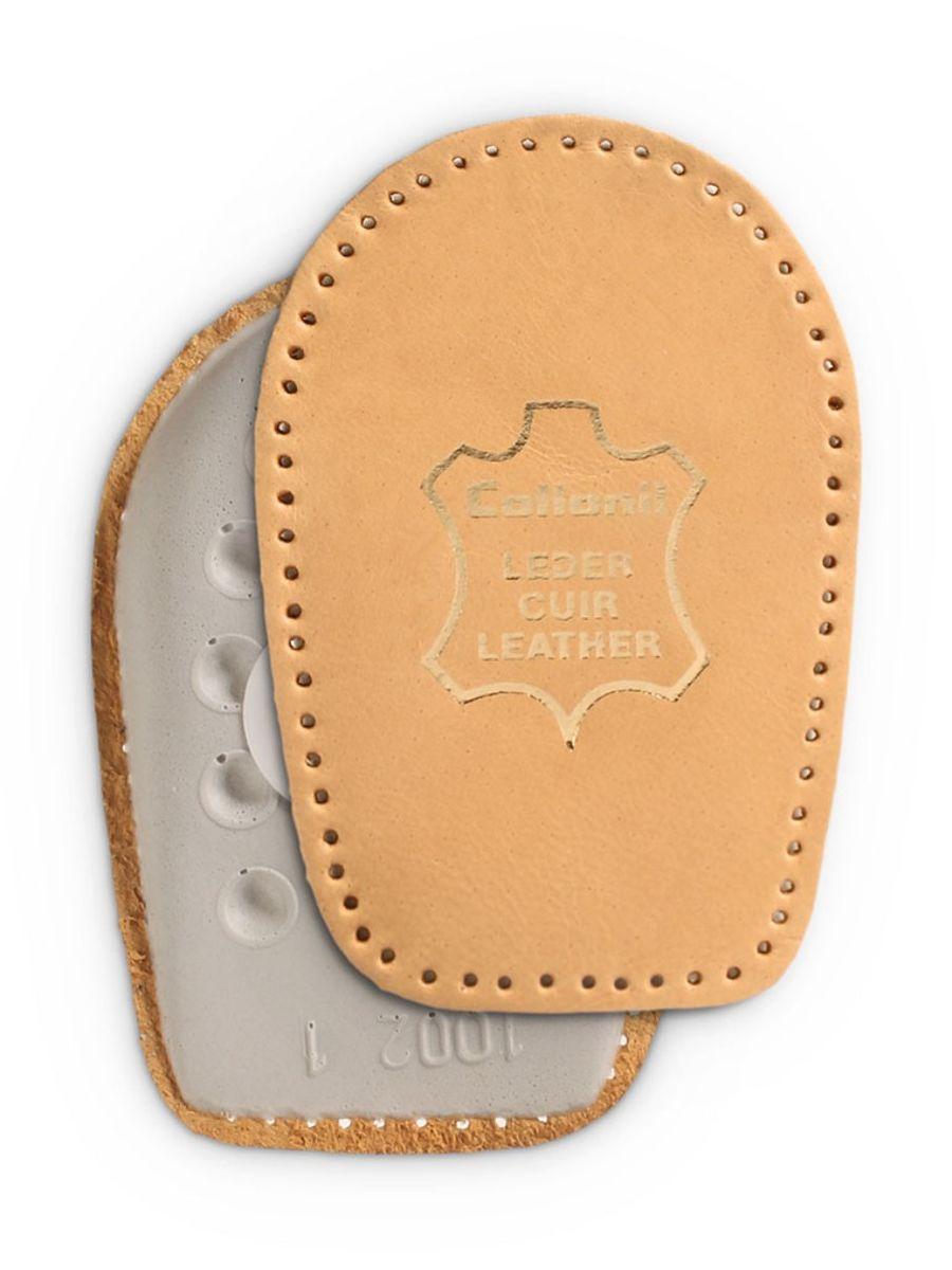 Самоклеющаяся подкладка под пятку Collonil Top Fit, с кожаным покрытием. Размер 29062 200Самоклеющаяся пенолатексная подкладка под пятку, с кожаным покритием