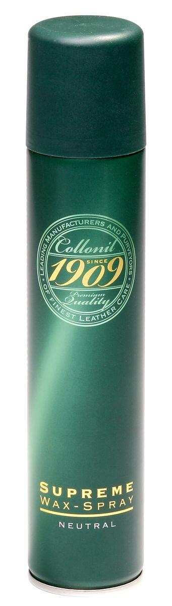 Спрей для обуви Collonil Wax Spray, 200 мл1892 000Спрей Collonil Wax Spray предназначен для гладкой кожи с зеркальным блеском, промасленного нубука, навощенной и сохраненной в натуральном виде гладкой кожи. Пропитывает и ухаживает, придает водо- и грязеотталкивающие свойства. Щадит материал и сохраняет его свойства. Объем: 200 мл. Товар сертифицирован.
