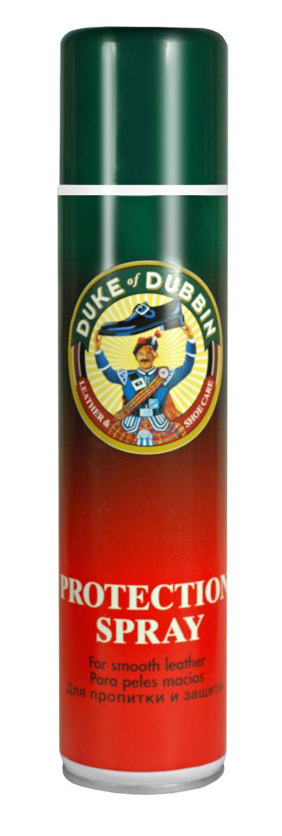 Спрей для обуви Duke of Dubbin Duke Protection, водоотталкивающий, 400 мл2214 000Универсальный водоотталкивающий спрей Duke of Dubbin предназначен для всех видов гладкой кожи, замши, велюра и нубука, а также текстильных и комбинированных материалов. Он обеспечивает интенсивную защиту от влаги и глубоких загрязнений, облегчая чистку изделий. Препятствует появлению водных, грязевых и солевых пятен. Протестирован и рекомендован для обуви с климатическими мембранами и из материалов HIGH-TECH, в том числе для GORE- TEX и SYMPATEX. При регулярном использовании значительно продлевает срок службы изделия. Объем: 400 мл. Товар сертифицирован.